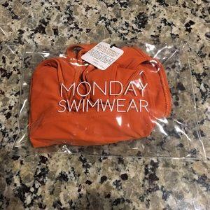 fe863b04c1 Monday Swimwear Swim - Monday Swimwear Portofino One Piece Burnt Orange